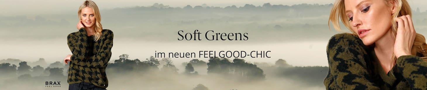 Soft Greens   im neuen Feelgood-Chic