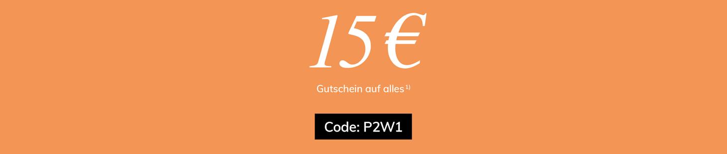 15€ Gutschein sichern