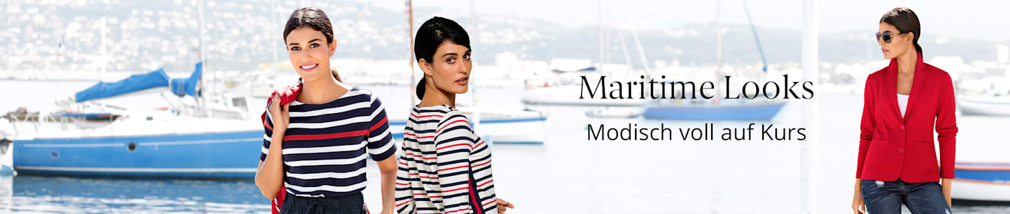 Entdecken Sie unsere maritime Mode