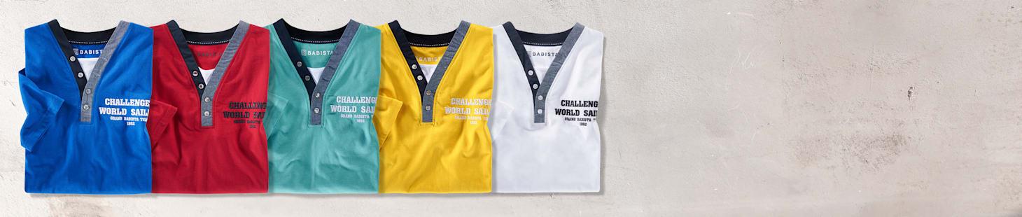 2 shirts au choix: 5 coloris sont disponibles