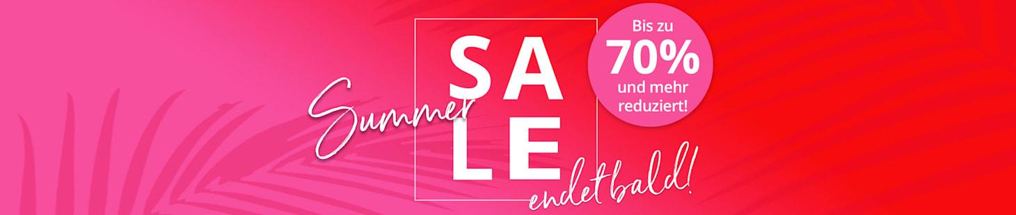 SALE endet bald! Jetzt noch bis zu 70% sparen