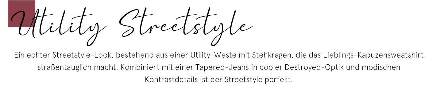 Utility Streetstyle
