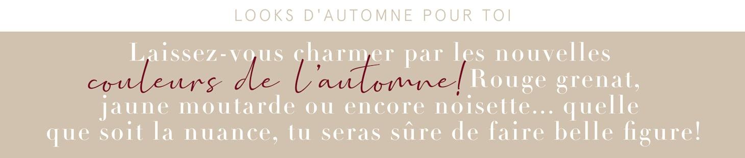 Looks D'automne pour toi