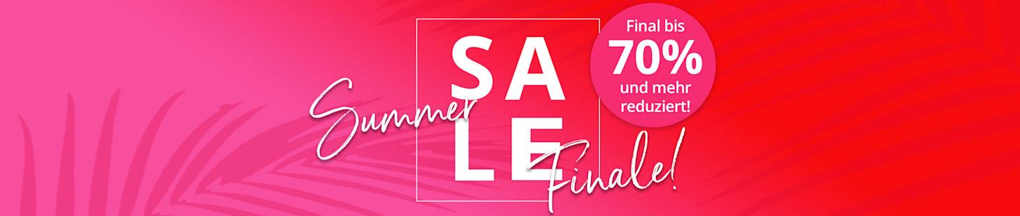 SALE FINALE! Jetzt noch bis zu 70% sparen