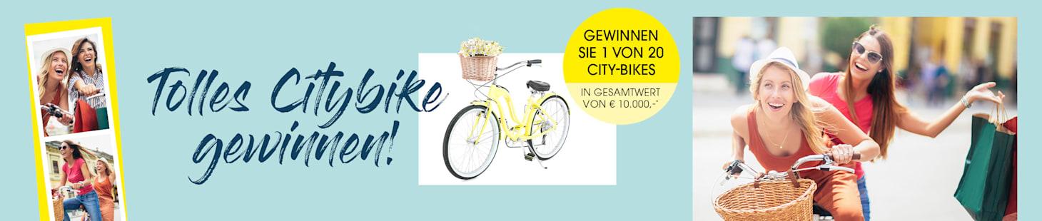 MIAMODA Große Größen City-Bike im Wert von 10.000€ gewinnen