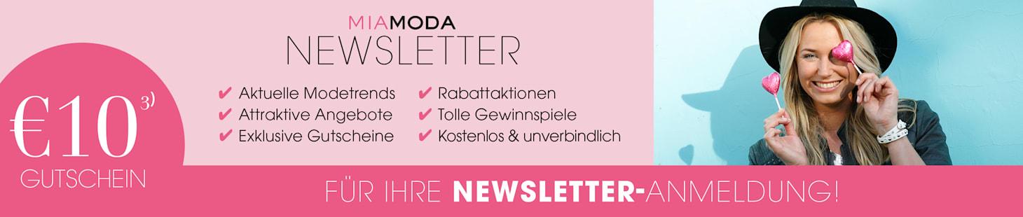 MIAMODA Große Größen Newsletteranmeldung €10 Gutschein