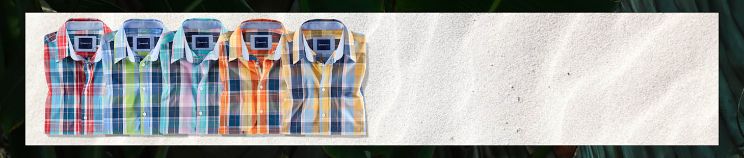 2 Kurzarmhemden Ihrer Wahl in 5 verschiedenen Farben - nur 100 CHF