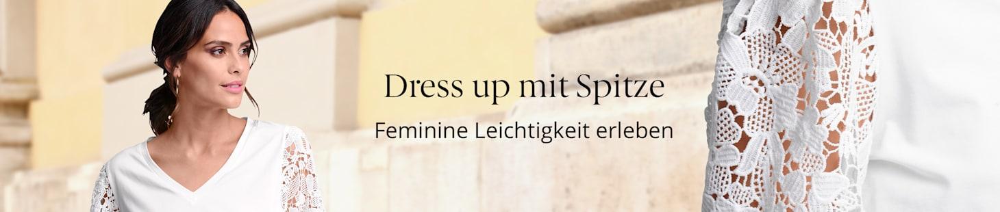 Dress up mit Spitze