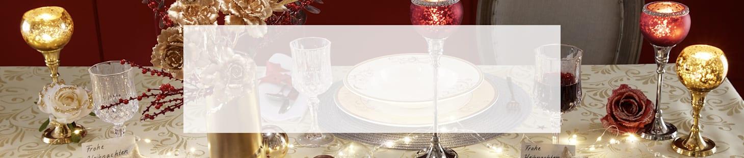 Festliche Tafel Weihnachten