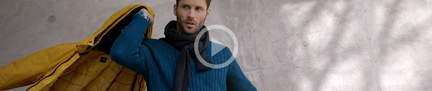 Das neue Blue-Video der Herbst-/Winterkollektion