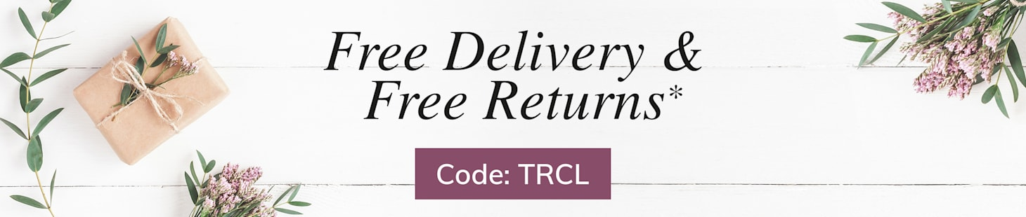 free delivery and returns