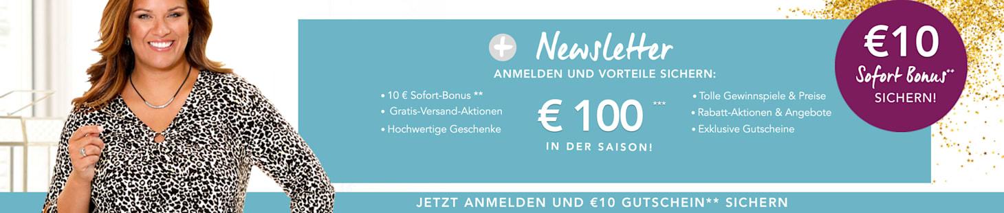 Jetzt €10 für Ihre Newsletter-Anmeldung sichern!