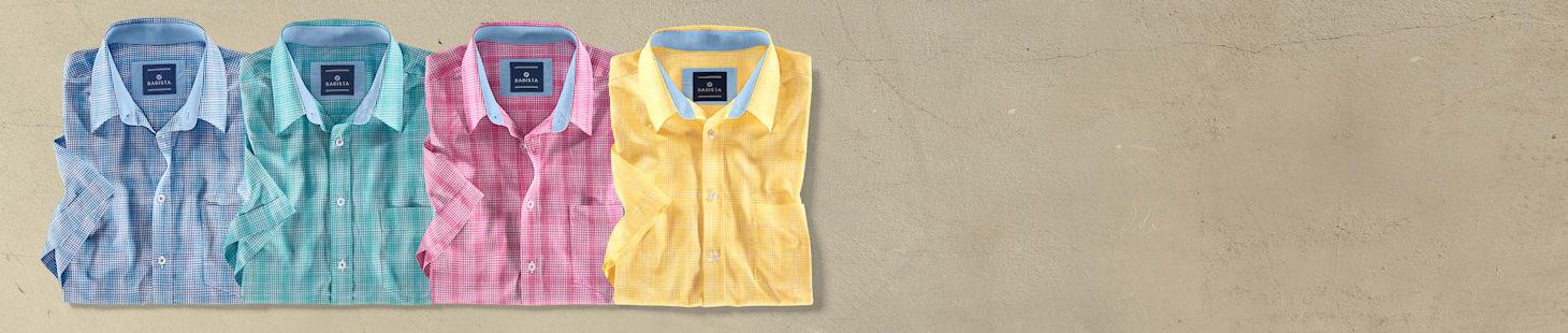 2 chemises  de votre choix déclinées en 4 coloris - Seulement CHF 100
