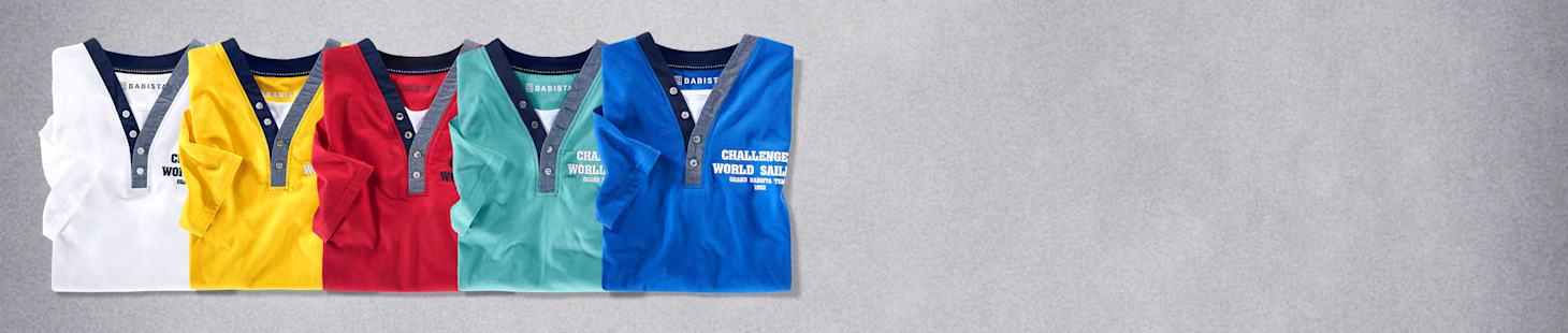 2 für 1: 2 T-Shirts für nur 40 €
