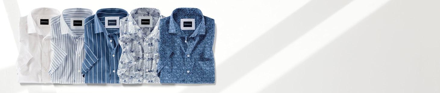 Nur 50 €: 2 Kurzarmhemden Ihrer Wahl in 5 verschiedenen Farben