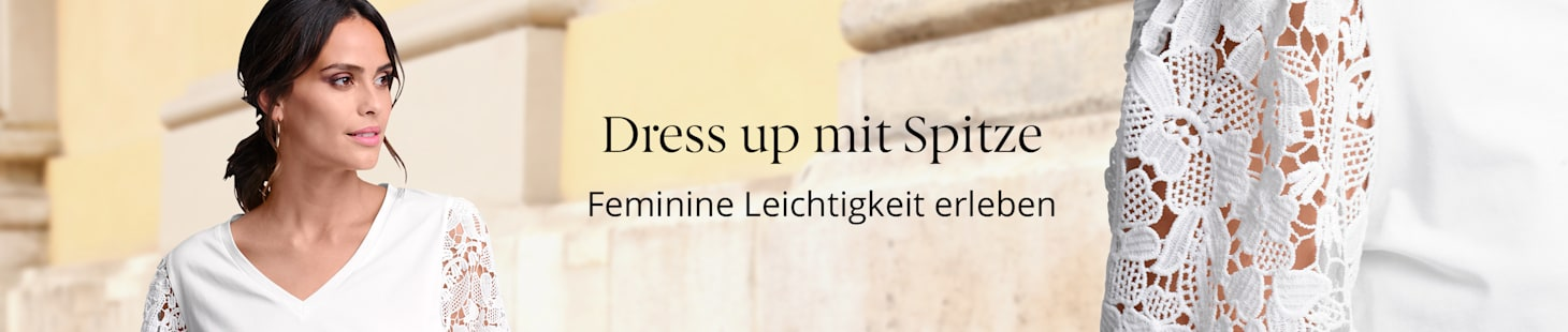 Dress up mit Spitze