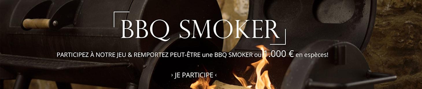 BBQ Smoker ou 1.000 € en espèces!