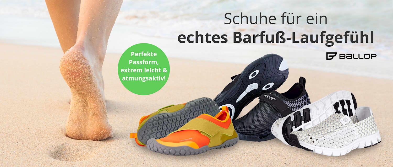 Ballop-Schuhe bei WELLSANA entdecken: Perfekte Passform, extrem leicht & atmungsaktiv