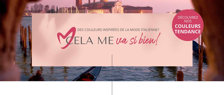 MIAMODA Grandes tailles La dolce Vita  des Coleurs inspirées de la mode italienne