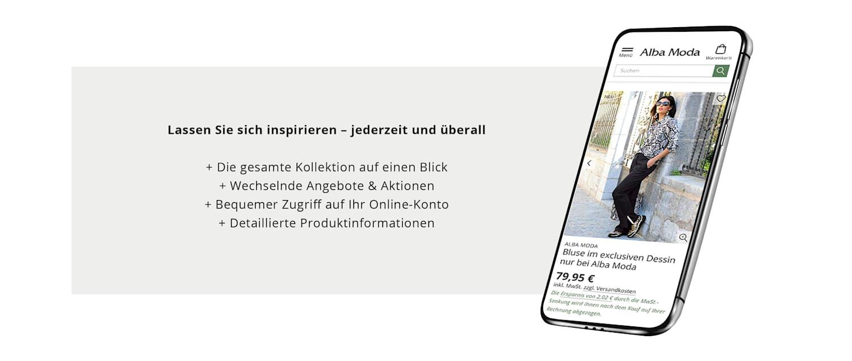 Alba Moda App-Promotion