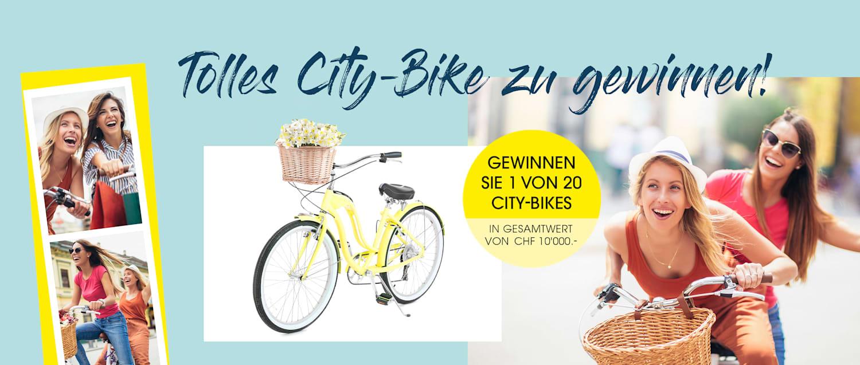 MIAMODA Große Größen 1 von 20 City Bikes im Gesamtwert von 10.000 CHF gewinnen