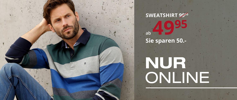 Online Angebot Sweatshirt