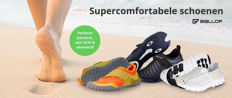 Ballop-schoenen: Perfecte pasvorm, zeer licht & ademend!
