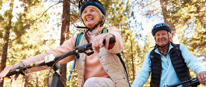 Wellsana Aktivitäten draussen Fahrräder