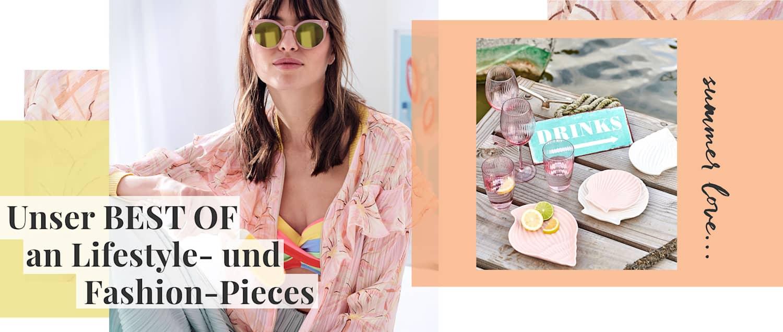 Unser BEST OF an Lifestyle- und Fashion-Pieces!