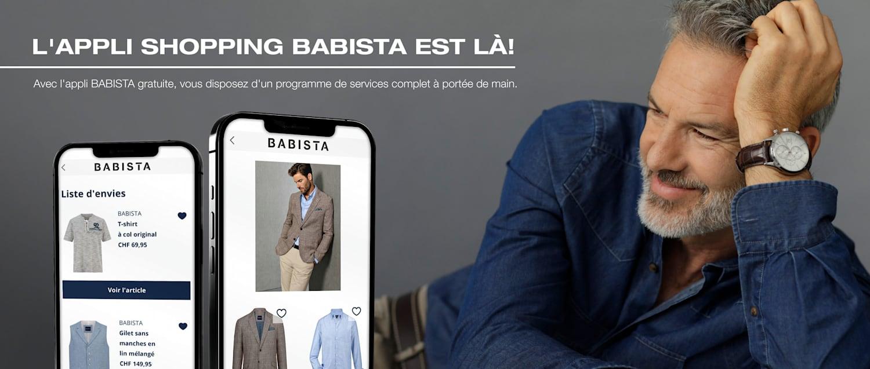 L'appli shopping BABISTA est là!