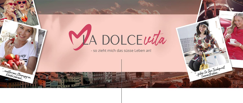 MIAMODA Grosse Grössen La Dolce Vita - so zieht mich das süsse Leben an!