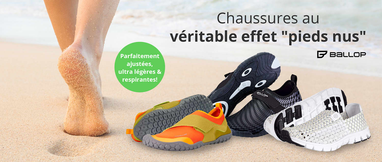 Chaussures Ballop: Parfaitement ajustées, ultra légères & respirantes!