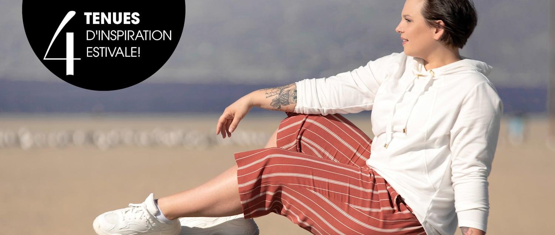 MIAMODA  La blogueuse mode grande taille Silvana Denker à Los Angeles