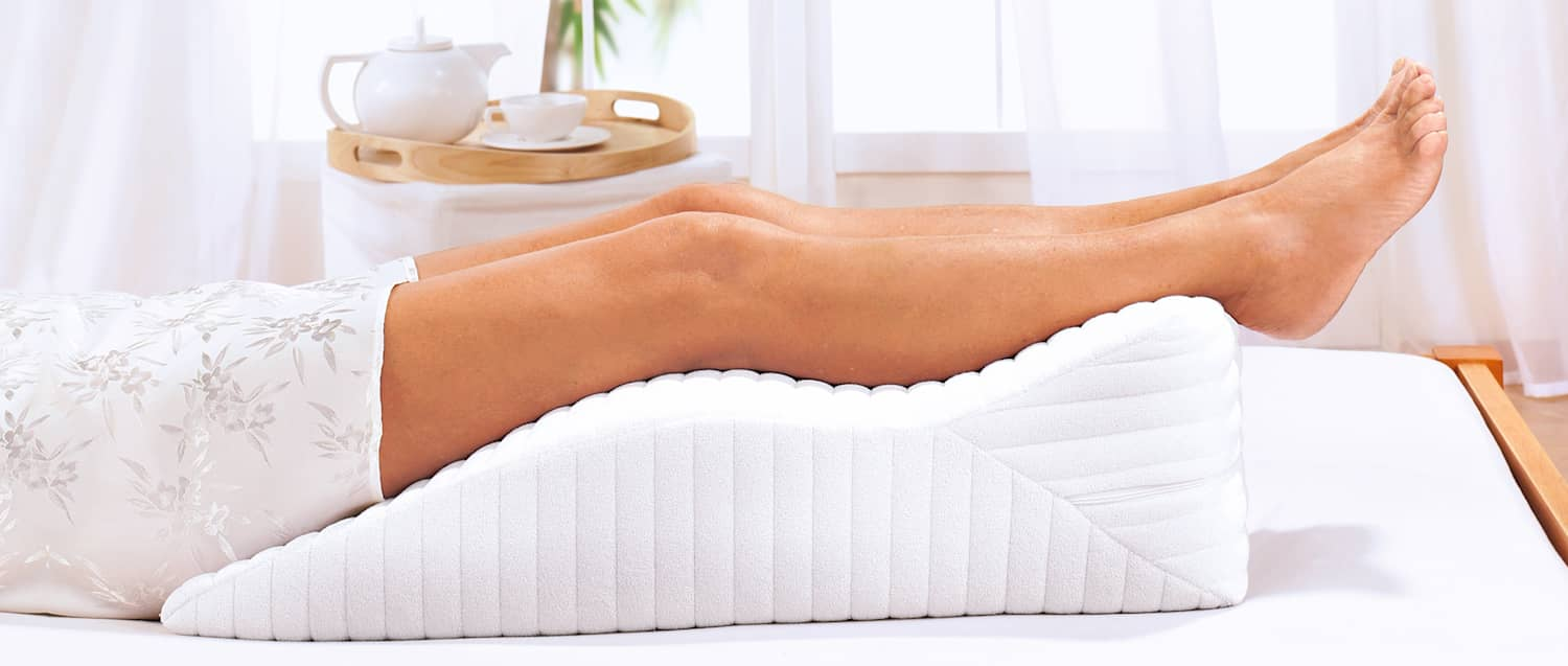 Wellsana Coussin pour reposer les jambes