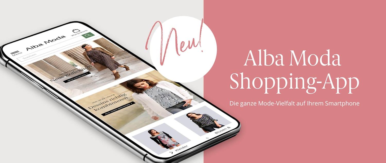 Unsere Alba Moda Shopping-App