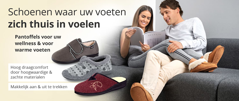 Ontdek pantoffels met comfortgarantie bij WELLSANA