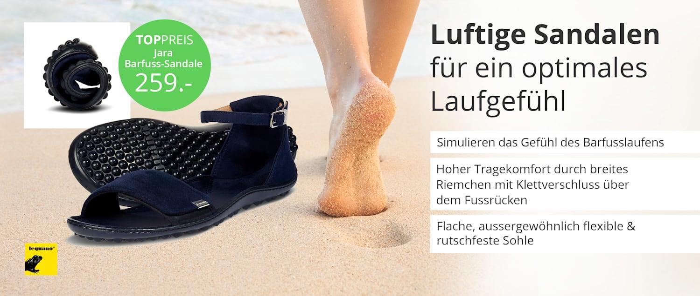 Bequeme Sandalen bei WELLSANA – für entspanntes Gehen