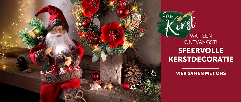 Sfeervolle Kerstdecoratie