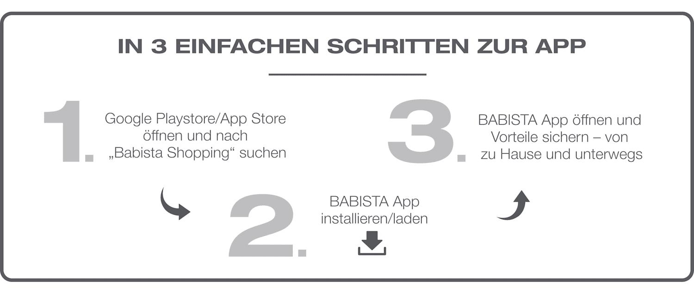 BABISTA App Download: Anleitung