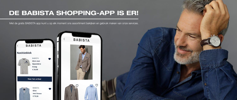 De BABISTA Shopping-App is er!