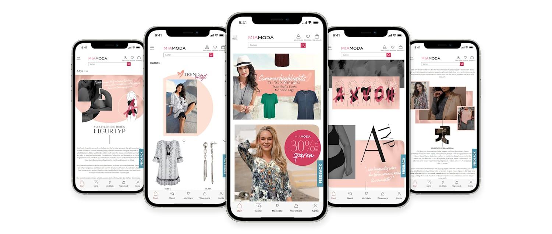 MIAMODA Große Größen Mobile App jetzt downloaden