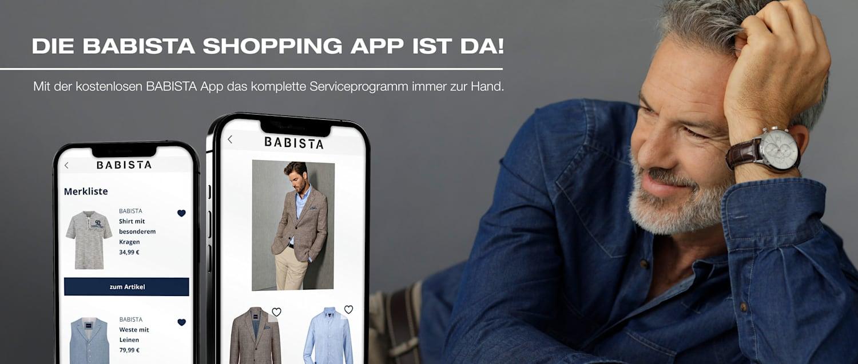 Die BABISTA Shopping-App ist da!