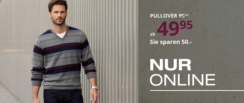 Pullover NUR ONLINE