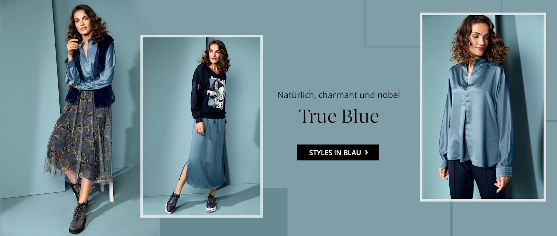 Styles in Blau