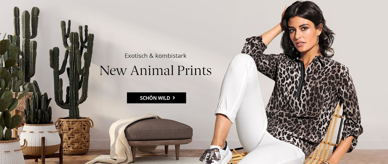 Erleben Sie unserer neuen Animal Prints