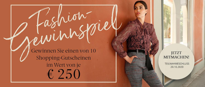 Fashion-Gewinnspiel