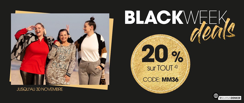MIAMODA Big Sizes Black Week Special 20% sur tout