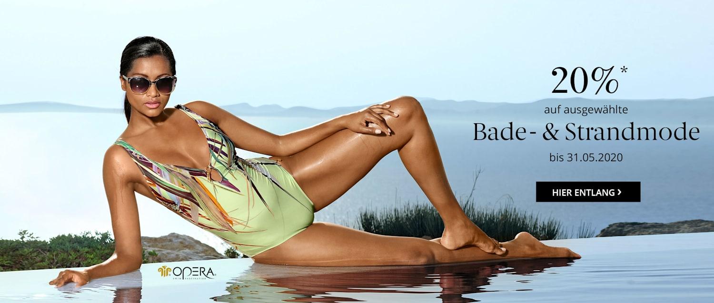 Sparen Sie 20% auf ausgewählte Bade- und Strandmode