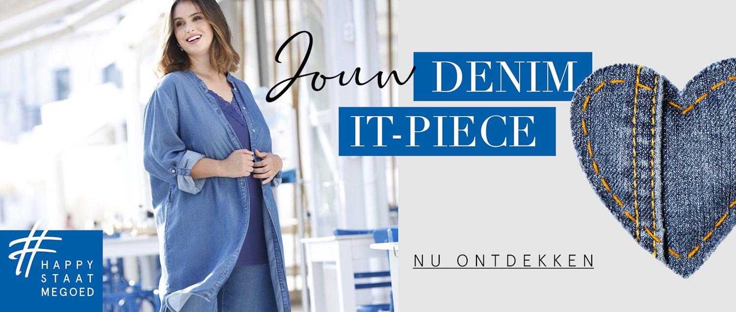 Jouw DENIM IT-PIECE