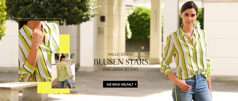 Blusen Stars von lässig bis edel